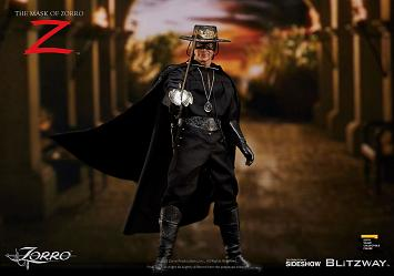Mask of Zorro: Zorro 1:6 scale Figure