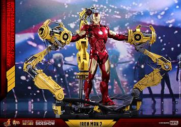 Marvel: Iron Man 2 - Iron Man Mark IV with Gantry - 1:6 Scale Fi