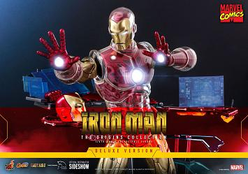 Marvel: Deluxe Iron Man Suit Armor 1:6 Scale Figure