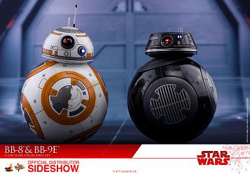 Star Wars The Last Jedi: BB-8 and BB-9E 1:6 Scale Figure Set