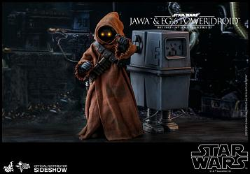 Star Wars: Jawa and EG-6 Power Droid 1:6 Scale Figure Set