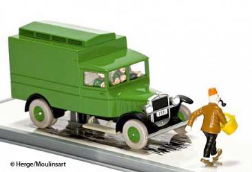 Tim & Struppi: Transport: Szene 5: Le camion cellulaire