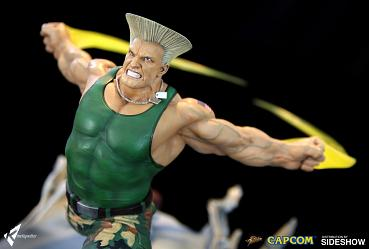 Street Fighter: Guile - War Heroes Diorama