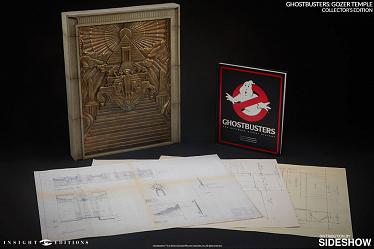 Ghostbusters Replik Gozer Temple & Buch Collectors Edition