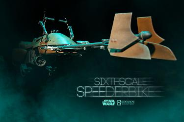 Speeder Bike Sideshow