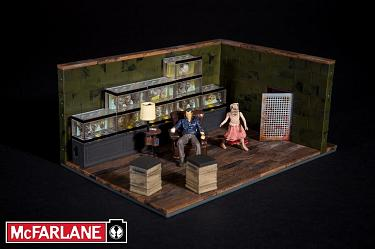 The Walking Dead TV series: Building Sets - Governor & Fish Tank