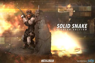 Metal Gear Solid: Solid Snake Statue