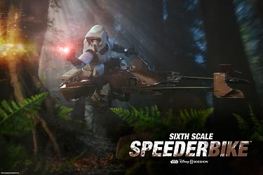 Star Wars: Speeder Bike Sixth Scale Vehicle