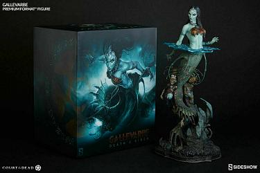 Sideshow Court of the Dead Gallevarbe Death's Siren Premium Form