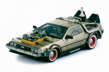 Back to the Future 3 DeLorean LK Coupe 1:18 Replica