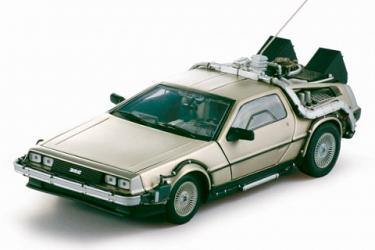 Back to the Future 1 DeLorean 1:18 Replica