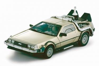 Back to the Future 2 DeLorean 1:18 Replica