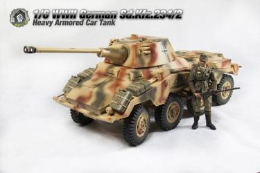Sd.Kfz.234-2 (3 Colors Camo)