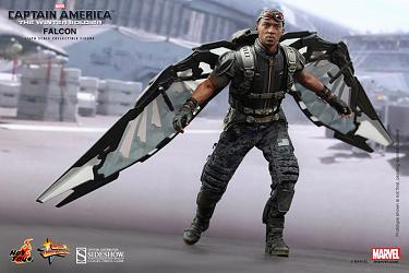 Captain America 2 Movie Masterpiece Actionfigur 1/6 Falcon 30 cm