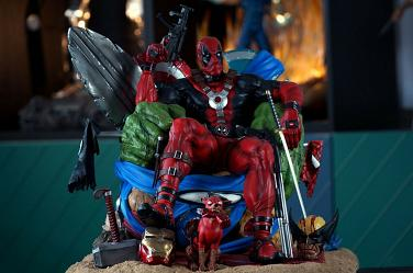 Xionart DEADPOOL KILLS MARVEL UNIVERSE 1/4 Scale New