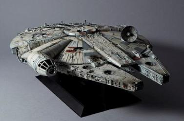Star Wars: Perfect Grade - Millenium Falcon 1:72 Scale Model Kit
