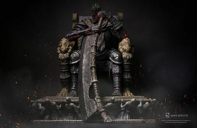 Dark Souls 3: Yhorm 1:12 Scale Statue with LED system