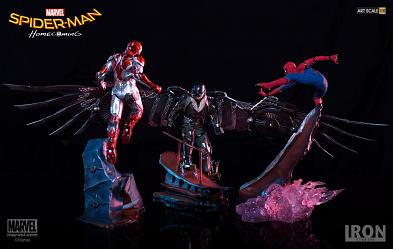 Marvel: Spider-Man Homecoming - 3 Piece Statue Set
