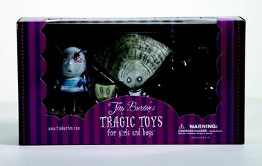 Tim Burton Oyster Boy PVC Set