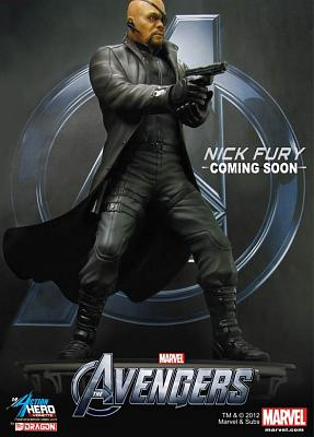 1/9 Avengers: Nick Fury (Pre-Painted Kit)