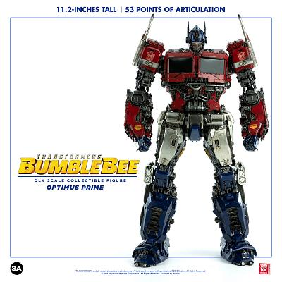 Transformers: Bumblebee Movie - Deluxe Optimus Prime 12 inch Fig