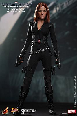 "CAPTAIN AMERICA 12"" BLACK WIDOW AF"
