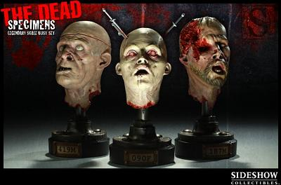 The Dead: Specimens Legendary Scale Busts