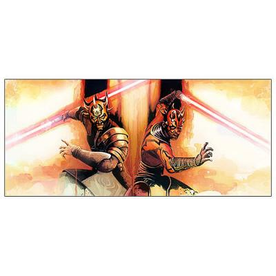 Star Wars Brothers Maul and Opress Canvas Giclee Print