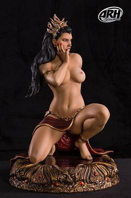 Arkhalla Seduction 1:3 scale polystone statue