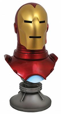 Marvel: Legends in 3D Marvel Iron Man Comic 1:2 Scale Bust