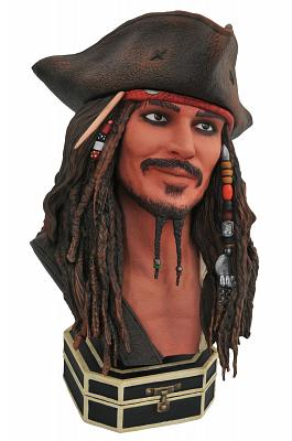 PotC: Legends in 3D - Jack Sparrow 1:2 Scale Bust