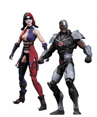 Injustice: Cyborg VS Harley Quinn 2-Pack