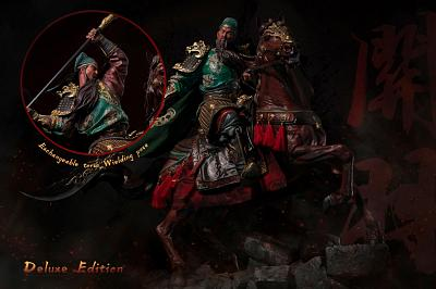 Three Kingdoms: Five Tiger Generals - Deluxe Guan Yu 1:4 Scale S
