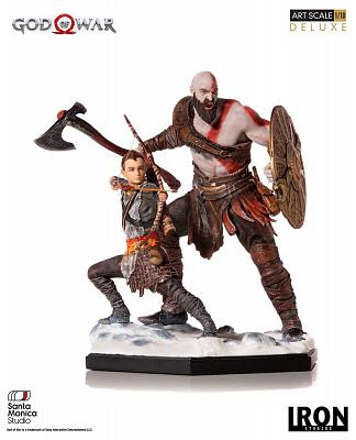 God of War: Deluxe Kratos and Atreus 1:10 Scale Statue
