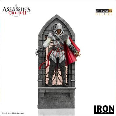 Assassin\'s Creed 2: Deluxe Ezio Auditore 1:10 Scale Statue