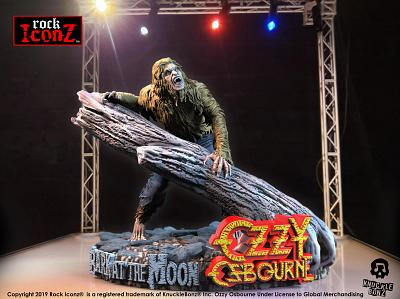 Rock Iconz: Ozzy Osbourne - Bark at the Moon Statue
