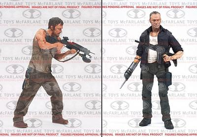 The Walking Dead TV Series 4 The Dixon Brothers 5 inch AF 2-Pack