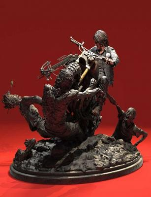 The Walking Dead: Daryl Dixon Limited Edition Statue