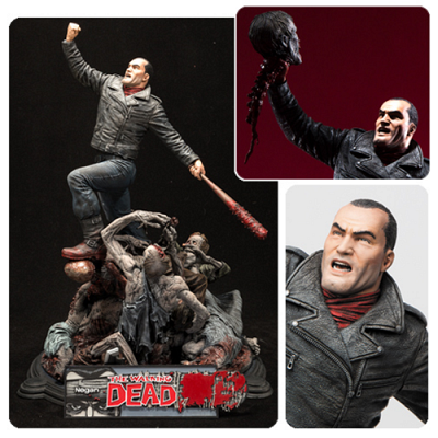 The Walking Dead Comic Negan 17-Inch Resin Statue - Free Shippin