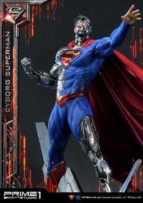DC Comics: Cyborg Superman 1:3 Scale Statue