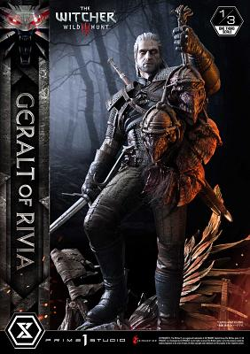 The Witcher 3: Wild Hunt - Geralt of Rivia 1:3 Scale Statue