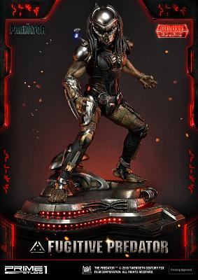 The Predator: Deluxe Fugitive Predator 1:4 Scale Statue