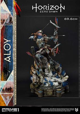 Horizon Zero Dawn: Aloy Shield Weaver Armor Set 1:4 Scale Statue