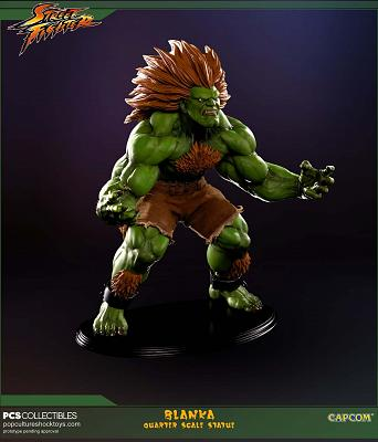 Street Fighter: Blanka 1:4 Scale Statue
