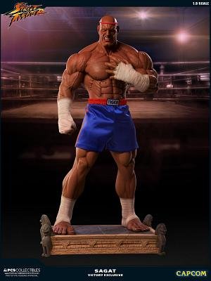 Street Fighter: Victory Exclusive Sagat 1:3 Scale Statue