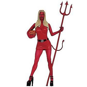 Jenna Jameson Halloween Red Devil Action Figure