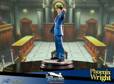 Ace Attorney: Dual Destinies - Phoenix Wright Statue