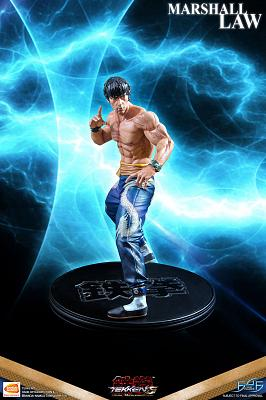 Tekken 5: Dark Resurrection - Marshall Law 1:4 Scale Statue
