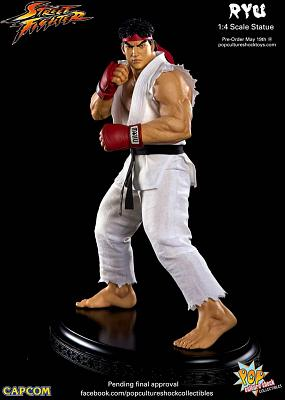 PCS: Street Fighter Ryu 1/4 Scale Statue