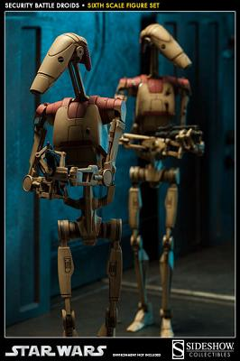 Star Wars: Security Battle Droids Sixth Scale Figure
